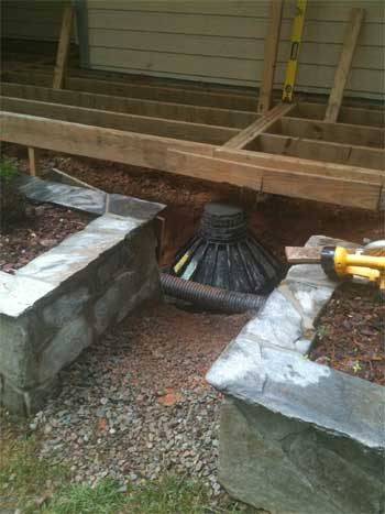 Photos of tough sonotube footing forms on the job - how to use ...